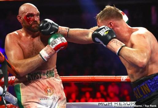 fury vs wallin, combate pesos pesados, resumen, noticias de boxeo, comentarios, favorito