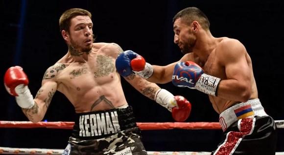 lejarraga vs avanesyan 2, noticias de boxeo, combate boxeador español peso welter titulo europeo