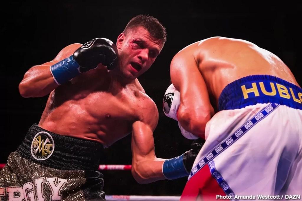 noticias de boxeo, combate peso medio, golovkin contra DEREVYANCHENKO, resumen, video pelea
