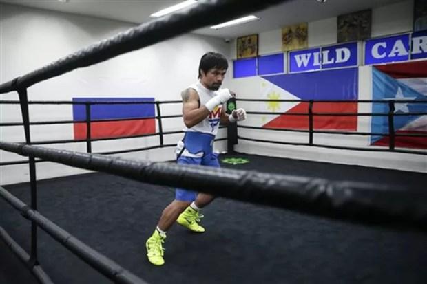 manny pacquiao pacman haciendo sombre de boxeo, entrenamientos, boxear, consejos, recomendaciones