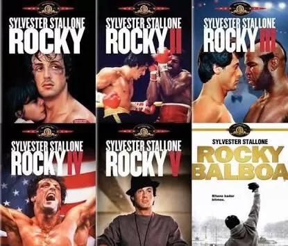 mejores peliculas boxeo, saga Rocky balboa, Rocky i, rocky ii, rocky iii, rocky iv, rocky v, sylvester stallone
