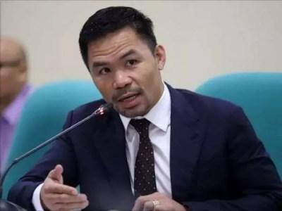 Manny Pacquiao se postula para ser presidente de Filipina en 2022
