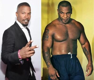 jamie foxx interpretará a Mike Tyson en su película