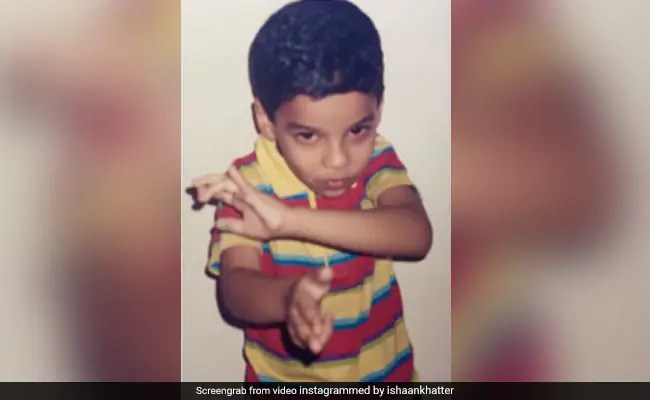 Ishaan Khatter's Fanboy Level Is 007 In This Throwback