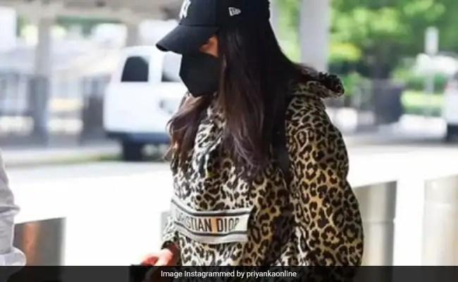 Priyanka Chopra Checks Into New York For Nick Jonas' Birthday