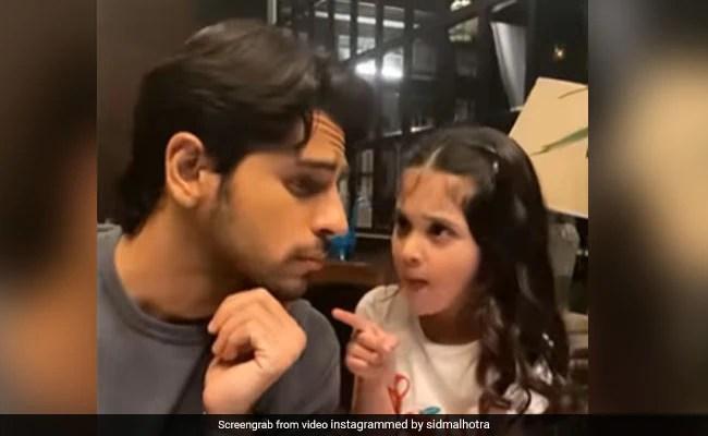 "Trending: What Happened When Sidharth Malhotra Met ""Little Kiara"""