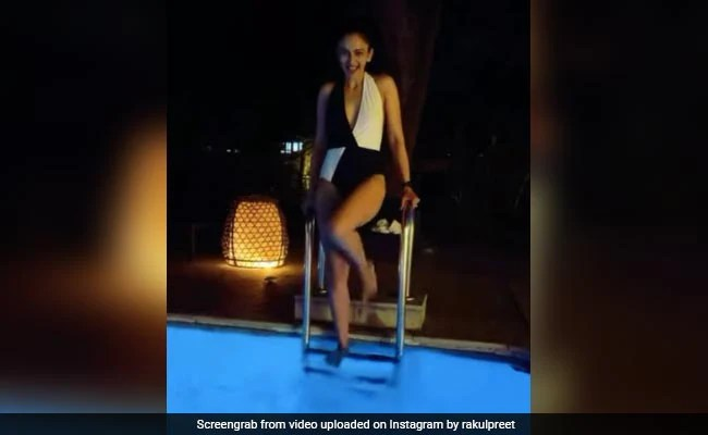 """""""Water Baby"""" Rakul Preet Singh Just Wants To Chill By The Pool. See Her Post"""