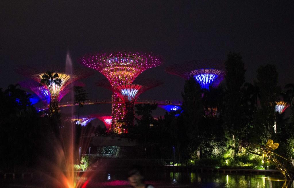 Singapur - Entre nubes de algodon