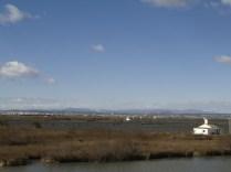 L'Albufera vista des del Tancat de la Pipa.
