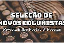 Photo of Revista Entre Poetas & Poesia abre inscrições para novos colunistas