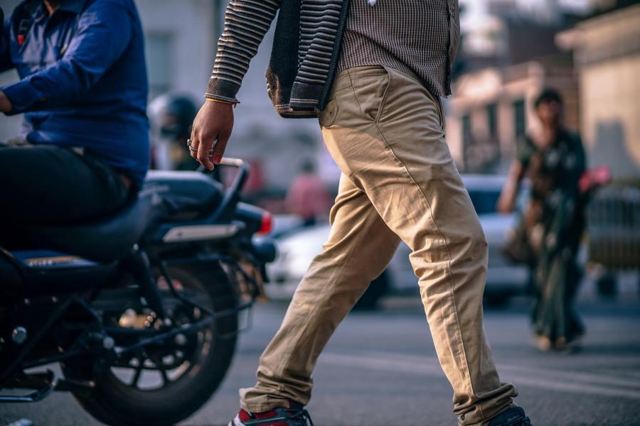 indien dans la rue
