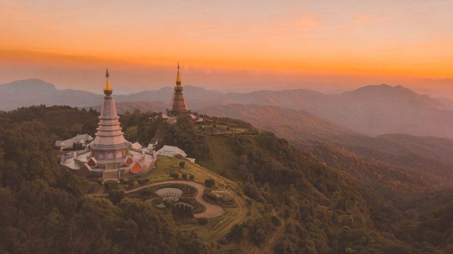Mon arrivée en Thaïlande