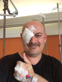Jacques à l'hôpital