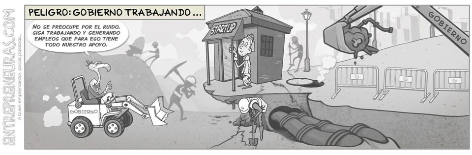 Peligro: gobierno trabajando - Entrepreneuras.com