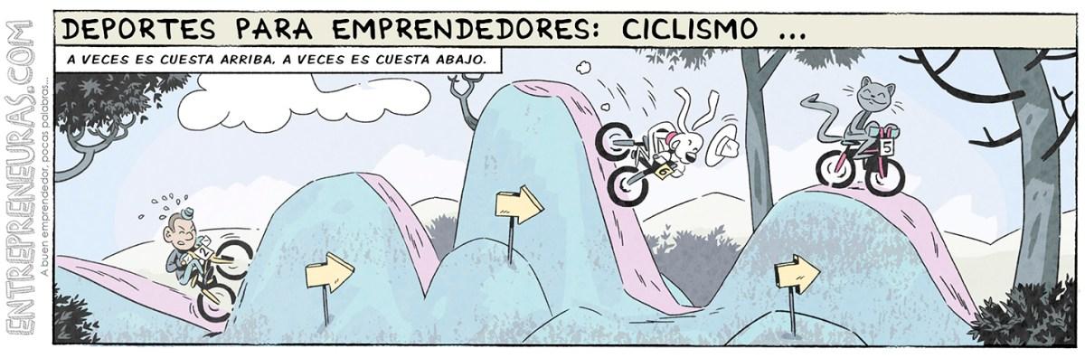 Ciclismo (deportes para emprendedores)