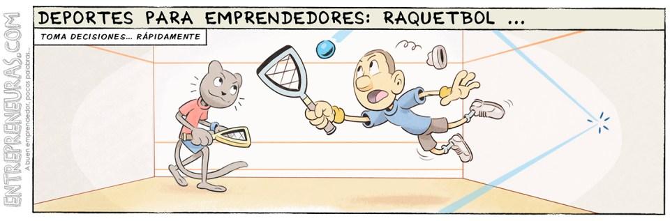 Raquetbol (deportes para emprendedores) - Entrepreneuras.com