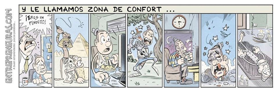Y le llamamos zona de confort - Entrepreneuras.com