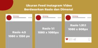 Ukuran Feed Instagram Lengkap
