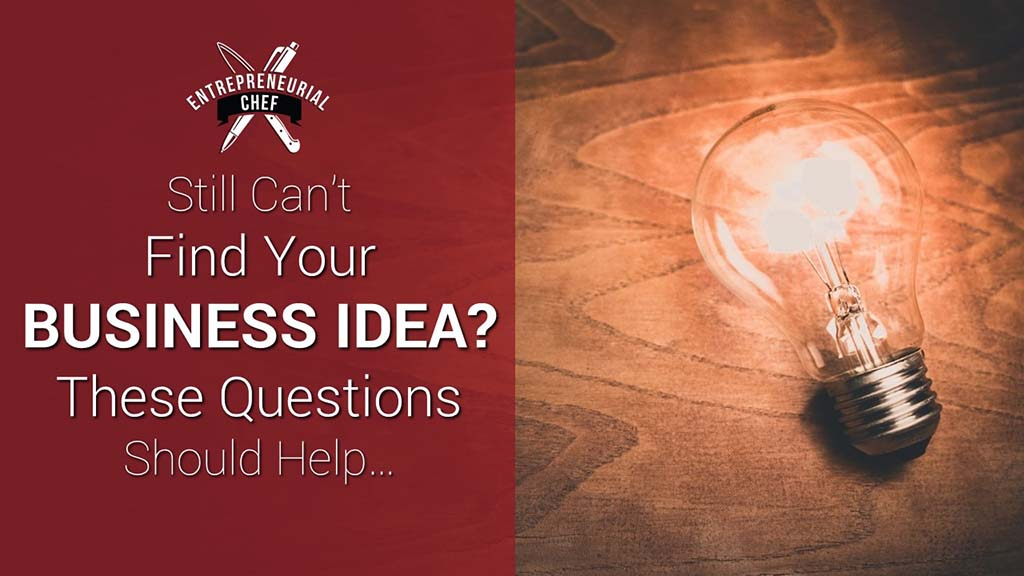 Can't Find Your Business Idea? These Questions Should Help…