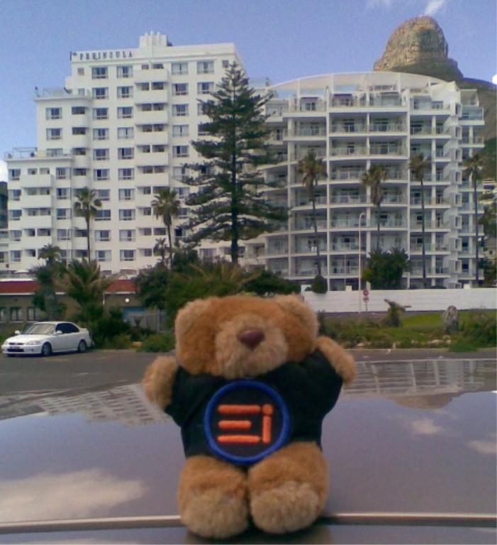 E-Bear at the Peninsula Hotel