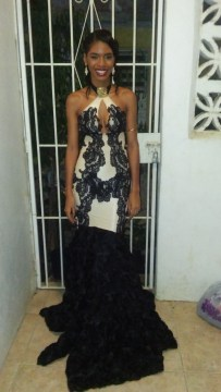 Prom dress I made for my little sister
