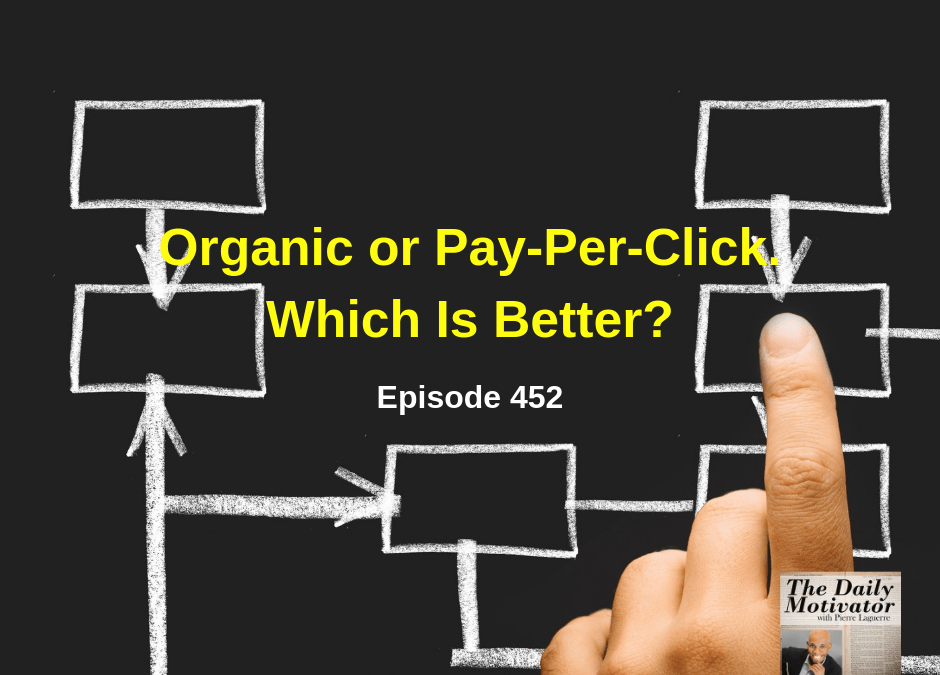 Organic or Pay-Per-Click. Which Is Better? Episode #452