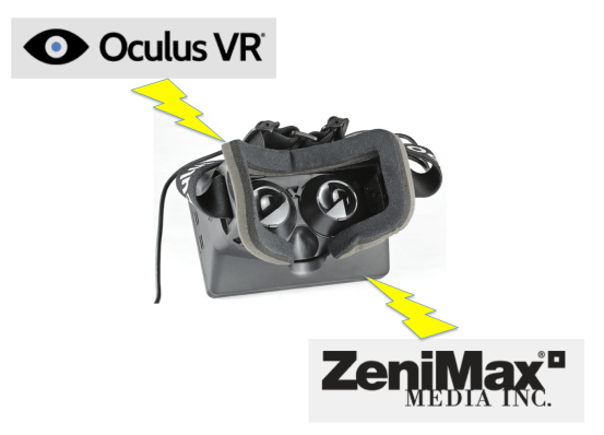 ZeniMax Media and Oculus are embroiled in a dispute over the intellectual property rights incorporated in the Rift product.
