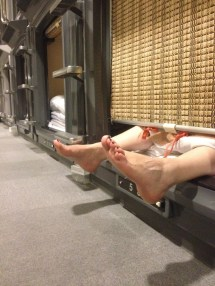 Expect Staying In Capsule Hotel Japan
