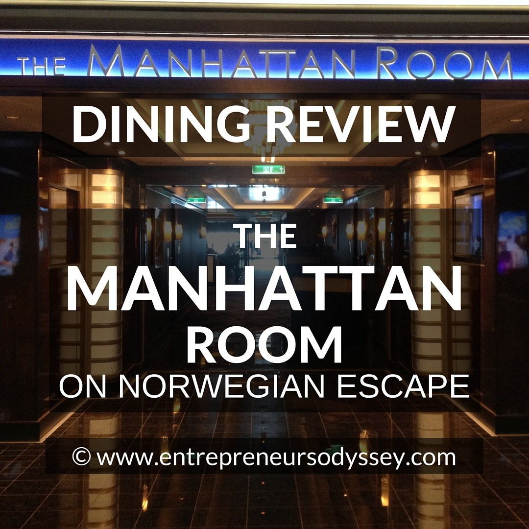 The Manhattan Room Review On Norwegian Escape