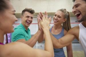 Sport entre collègues