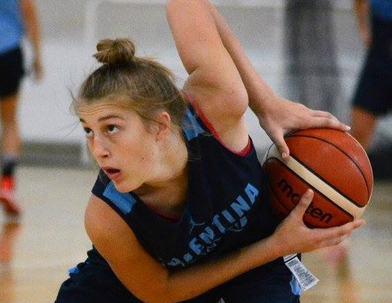 Resultado de imagen para malvina d agostino + basquet
