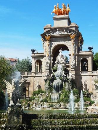El Parc de la Ciutadella.