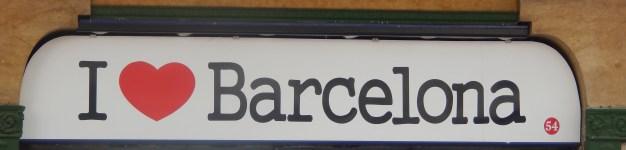 La marca Barcelona es bien vendida en toda la ciudad.
