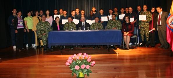 Diplomado, Batallón Sanidad del Ejército & Politécnico Grancolombiano