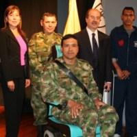 Politécnico Grancolombiano certifica a soldados con discapacidad