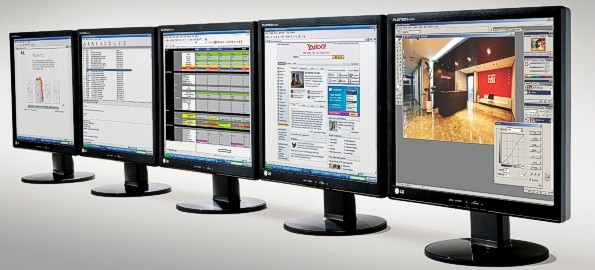 LG Network Monitors