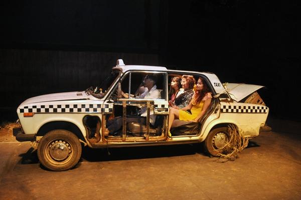 Pasajeras, Teatro Nacional