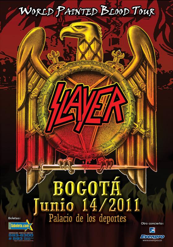 Slayer en Bogotá 2011