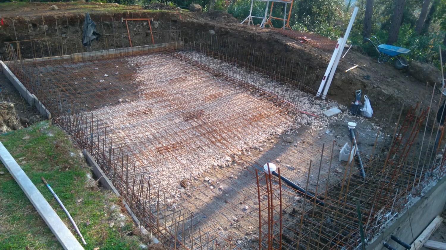 contruction piscine