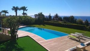 piscine débordement Cannes
