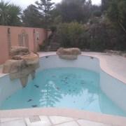 fuite sur piscine