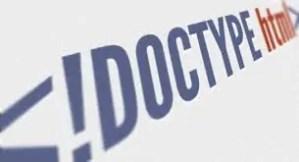 Un poco de teoría: ¿Qué es el Doctype?