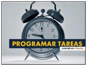 Programar tareas Crontab en Ubuntu
