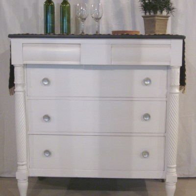 Antique Sideboard Buffet Makeover