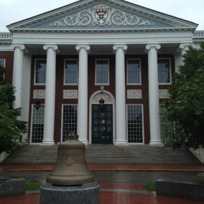 A Weekend at Harvard University