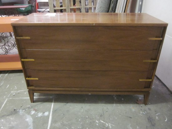 MCM Stained and Painted Dresser