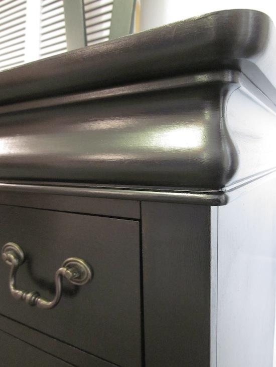 Black Keyhole Dresser