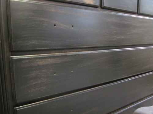 Antique Stained Black Dresser_IMG_6141