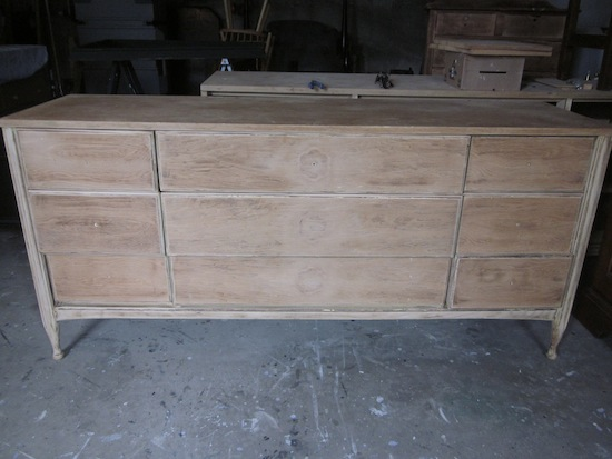 9 drawer dresser formerly yellow
