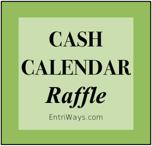 School Fundraiser | Cash Calendar Raffle